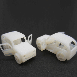 Plastic car toy prototype