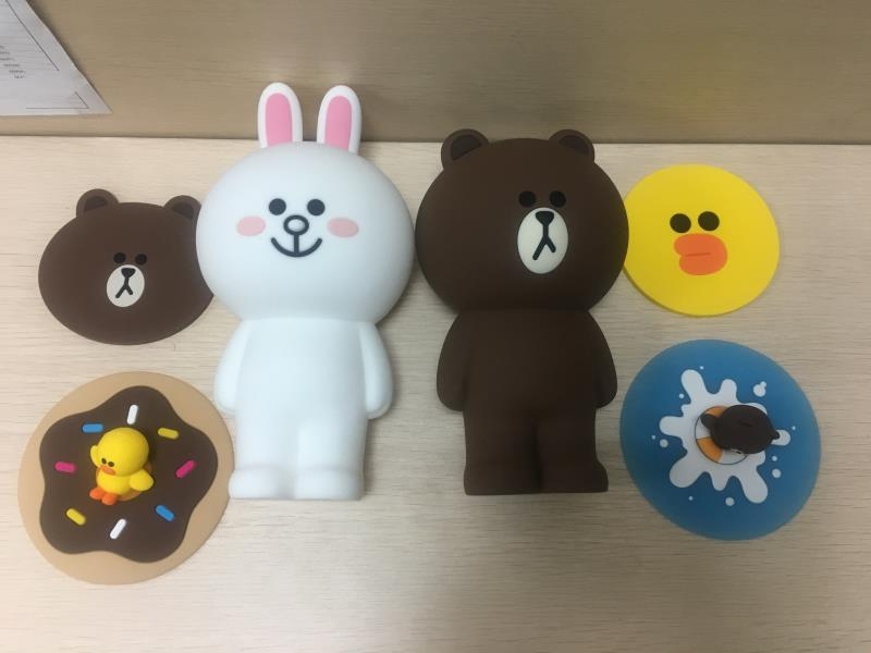 rubber silicone toy sample